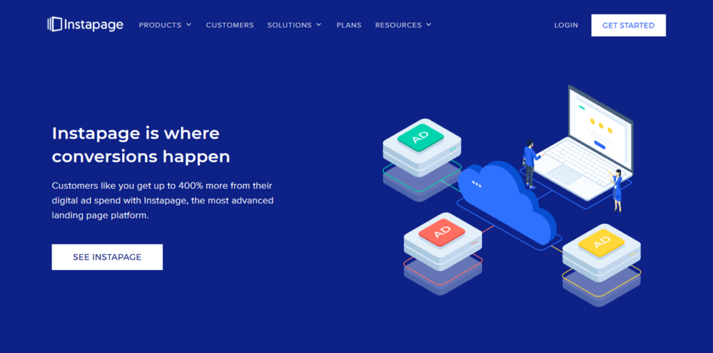 Best Landing Page Builder Instapage