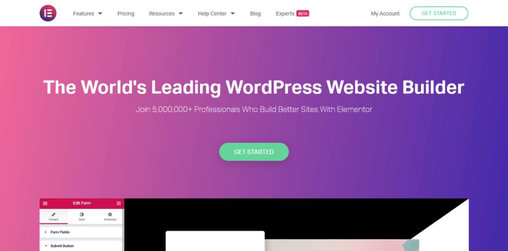 Best Landing Page Builders Elementor