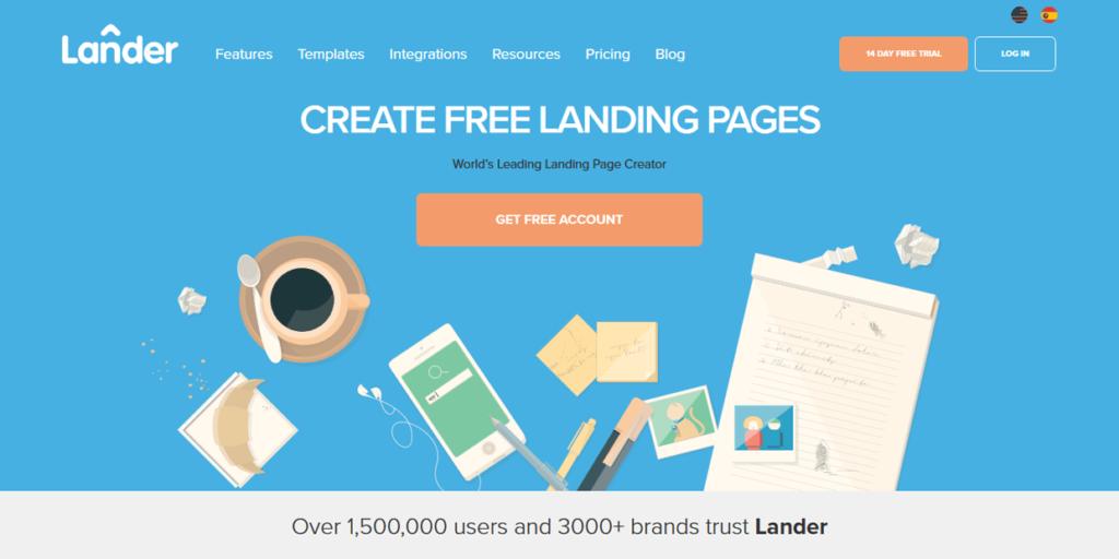 Best Landing Page Builders Lander