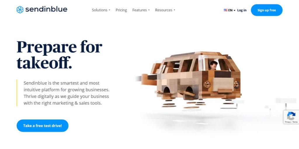 Best Landing Page Builders Sendinblue