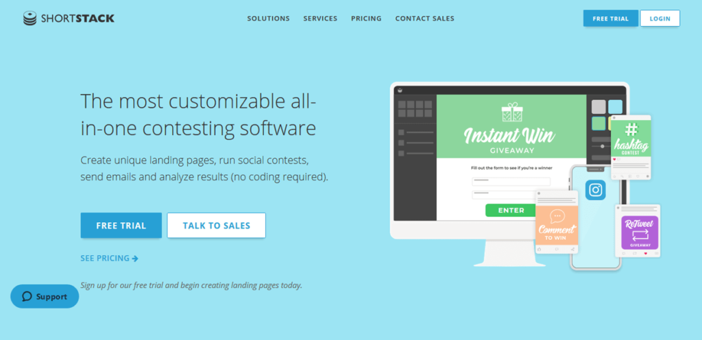 Best Landing Page Builders ShortStack
