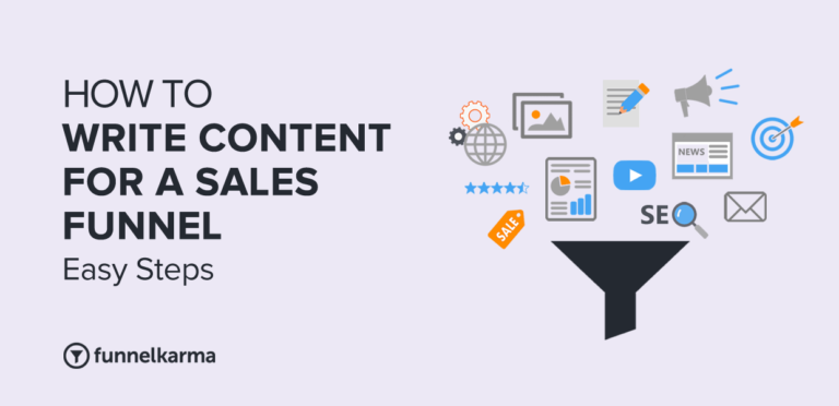 How To Write Content For A Sales Funnel
