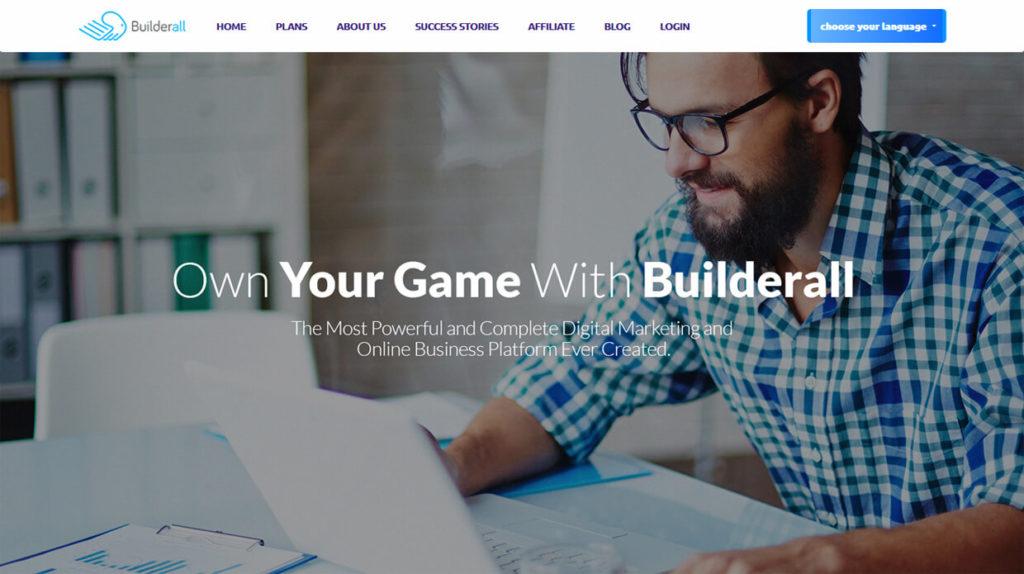 Best Sales Funnel Builder Software Builderall