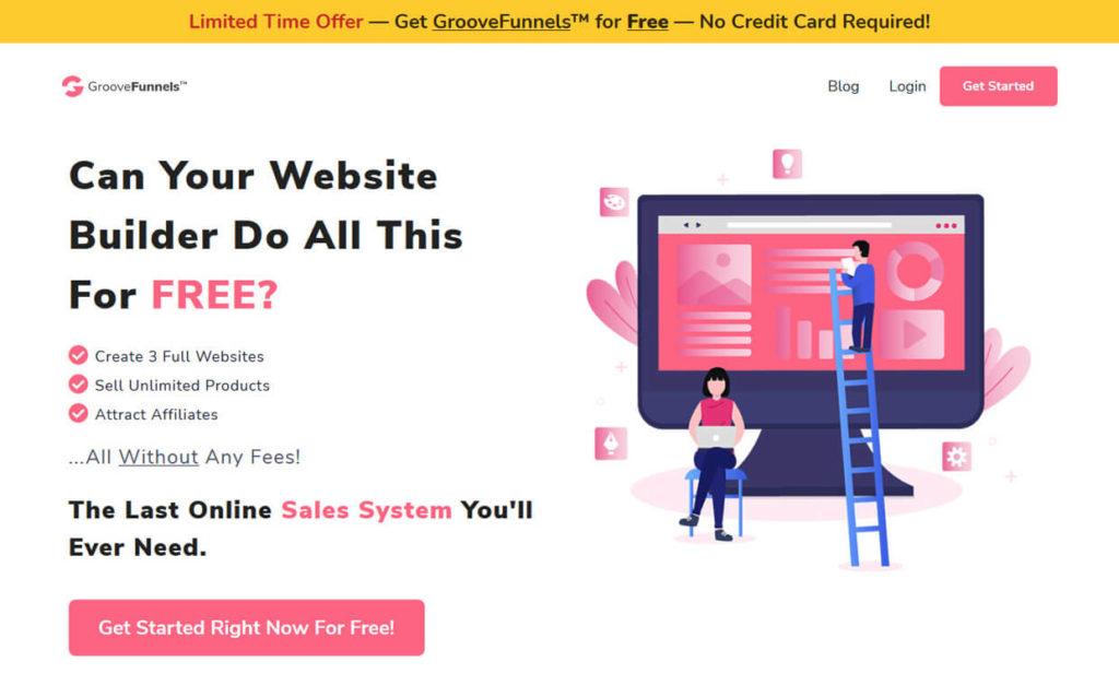 Best Sales Funnel Builder Software GrooveFunnels