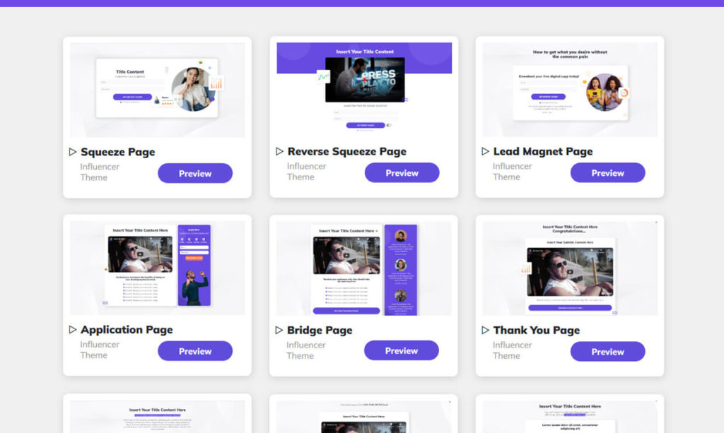 Builderall Sales Funnel Builder Software Templates