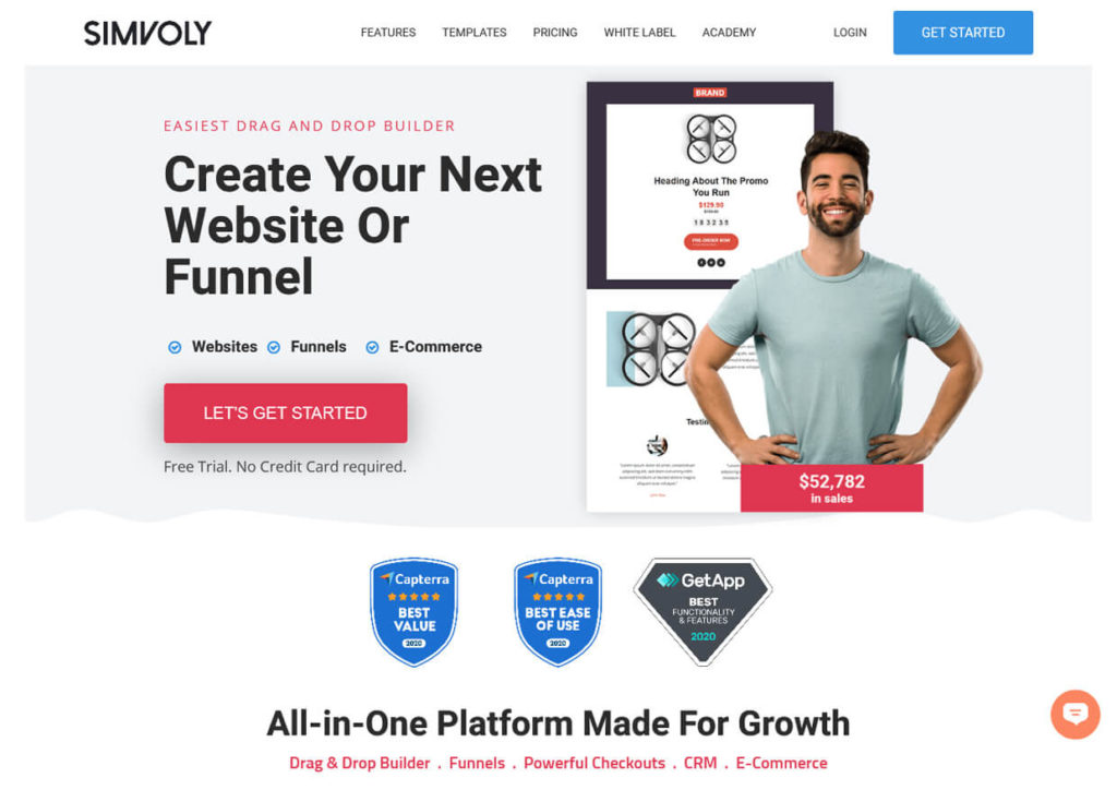 Best Sales Funnel Builder Software Simvoly