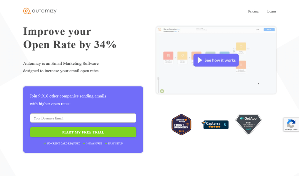 Best Email Marketing Software Automizy