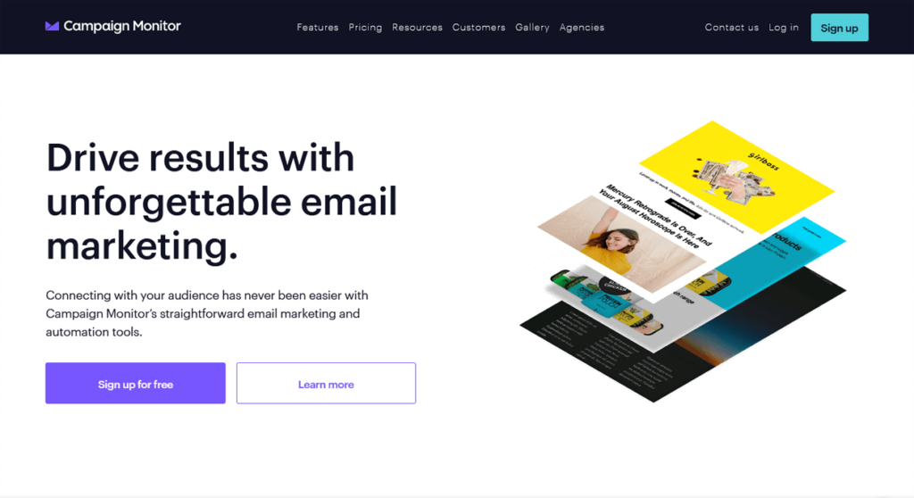 Best Email Marketing Software Campaign Monitor