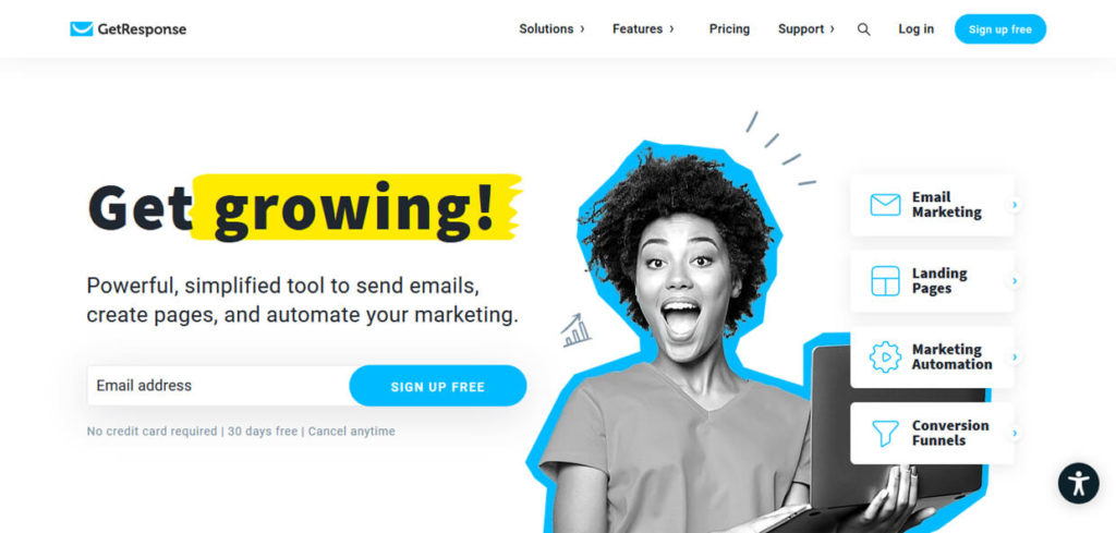 Best Email Marketing Software GetResponse