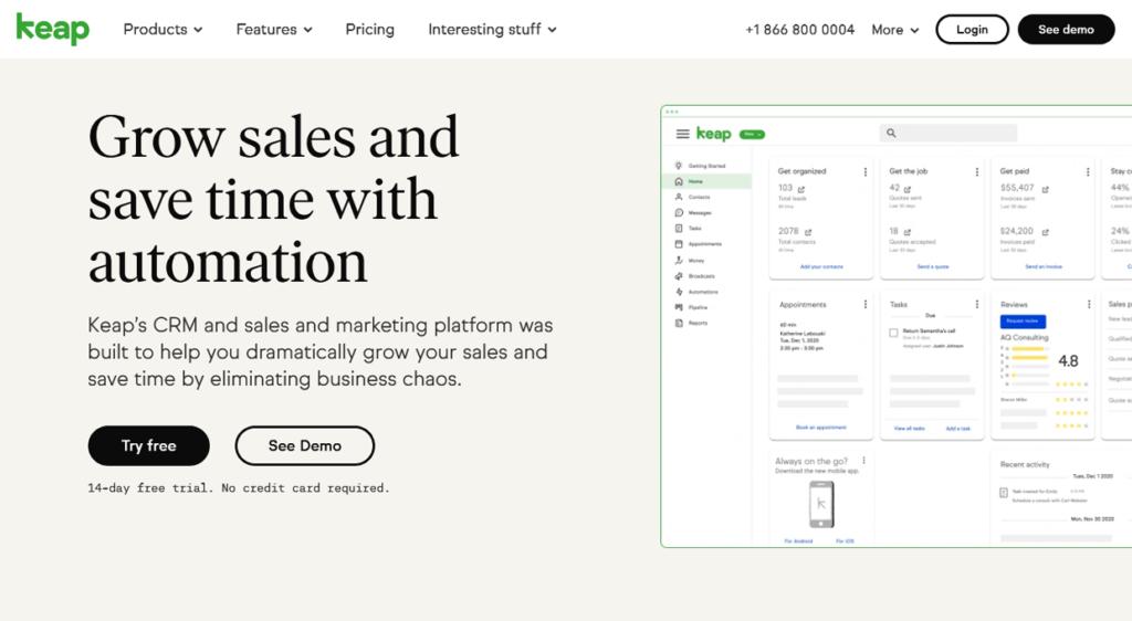 Best Email Marketing Software Keap