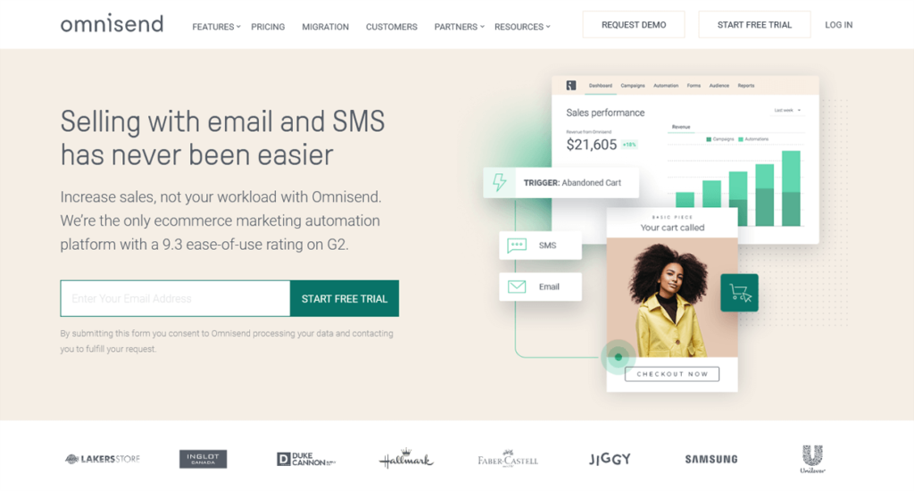 Best Email Marketing Software Omnisend