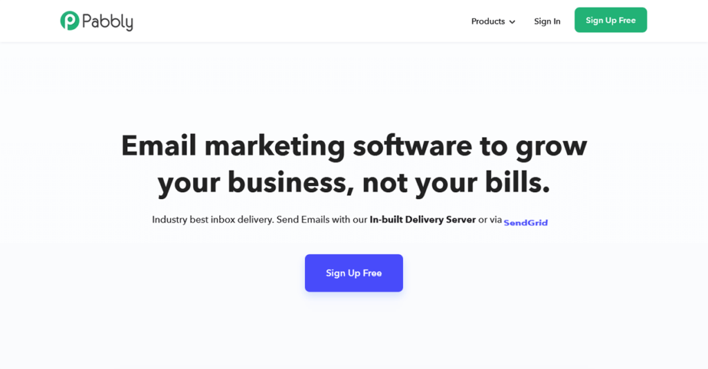 Best Email Marketing Software Pabbly