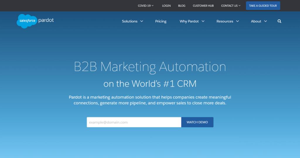 Best Email Marketing Software Pardot Salesforce