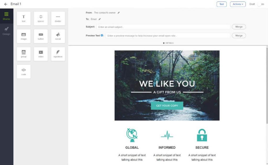 Email Template Builder Software Keap