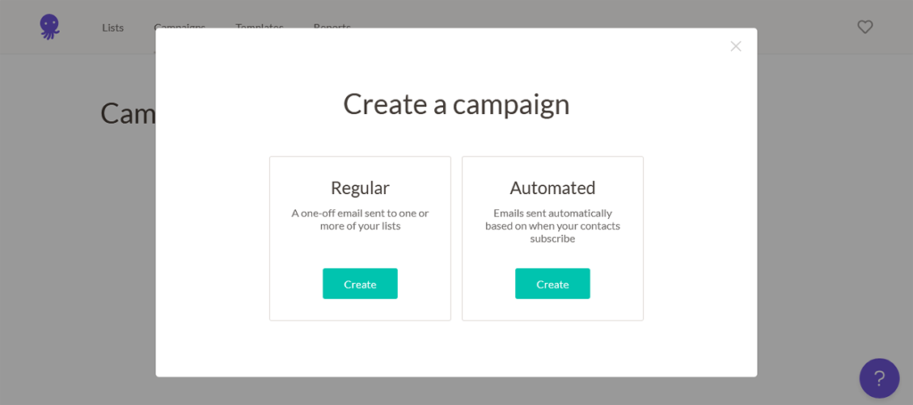 EmailOctopus Email Automation Create A Campaign